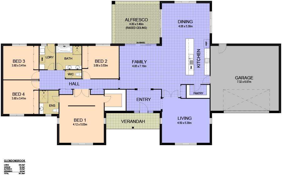 13 11 12 3374 Glendonbrook Floor Plan