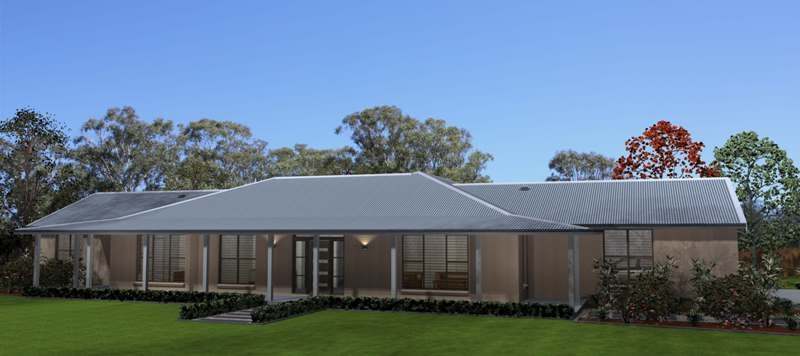 Valley Homes Acreage Home Design Series - Acreage home designs
