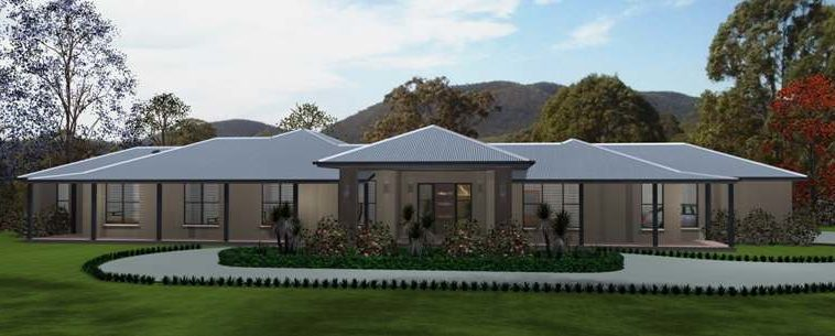 Acreage, country home, design, build, house designs, rural, Australia