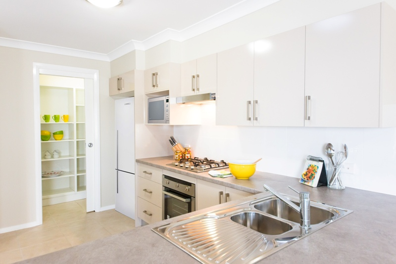 Valley homes kitchen open plan pantry newcastle maitland