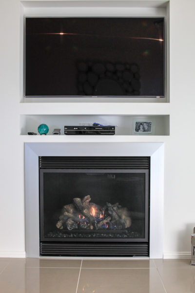 Inclusions heater custom home design Hunter Valley fireplace