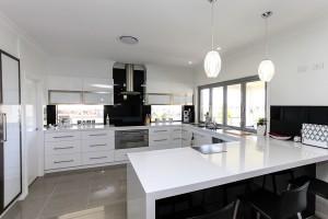 Open plan kitchen home builder Maitland Newcastle Hunter Valley