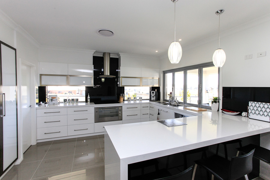 Open plan kitchen home builder Maitland Newcastle Hunter Valley