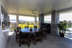 Custom home design porch back living builder Hunter valley