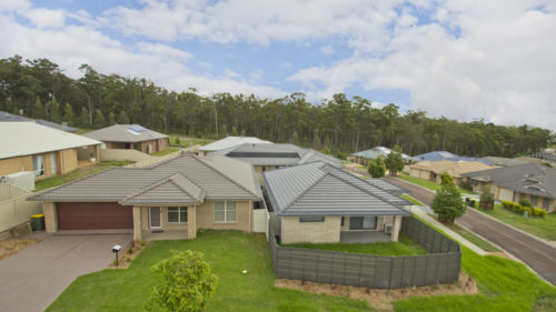 Valley Homes corner dual occupancy project Hunter Valley Property Bloom