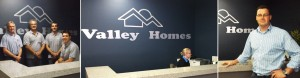 Valley Homes Reception site managers local business