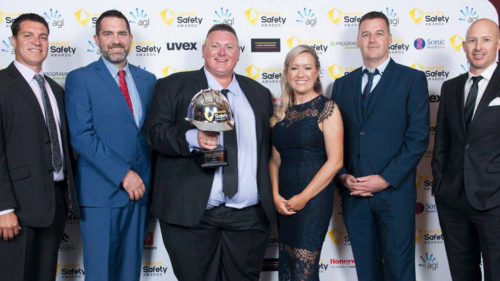 Valley Homes WHS Workplace Health and Safety Award win 2018