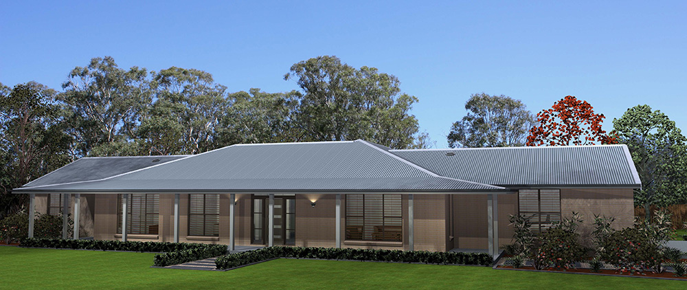 Acreage home design Hunter Valley
