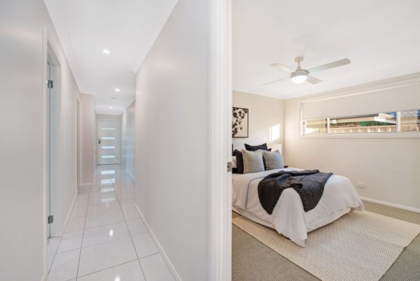 Valley Homes Bolwarra Heights Maitland Duplex Builder hallway